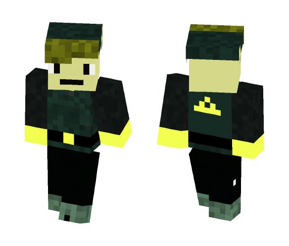 coal Link - Male Minecraft Skins - image 1
