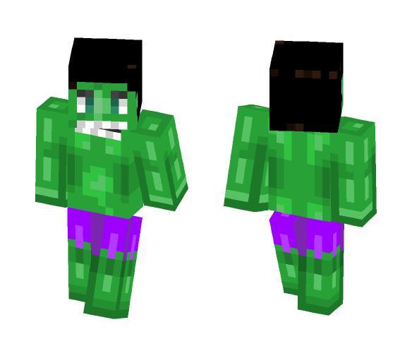 Hulk - Comics Minecraft Skins - image 1