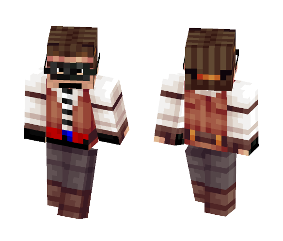 Unknown Creation of a Man - Male Minecraft Skins - image 1