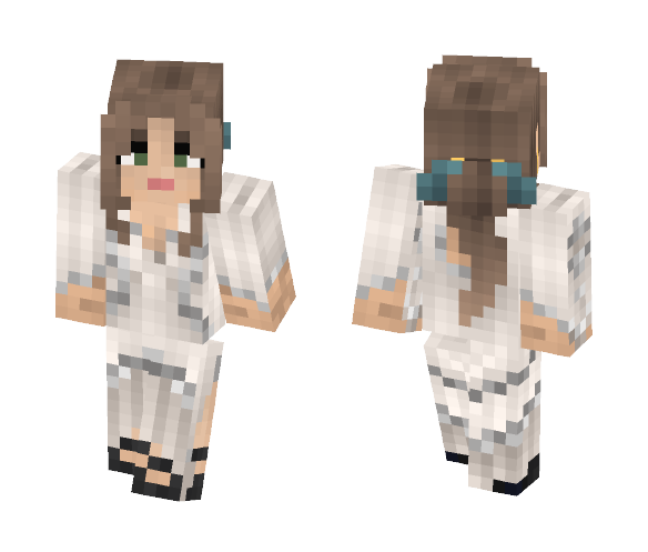 Medieval Gown - Female Minecraft Skins - image 1