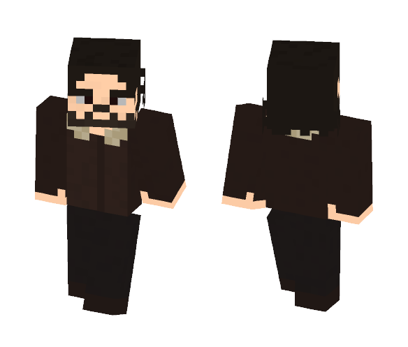 Rick Grimes Walking Dead - Male Minecraft Skins - image 1