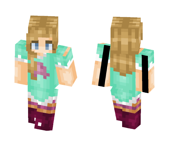 Download star butterfly Minecraft Skin for Free