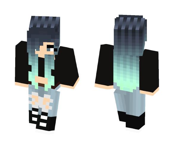 Skinny Jeans Onny - Female Minecraft Skins - image 1