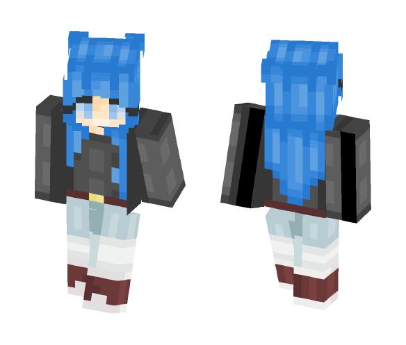 First Skin!! - Female Minecraft Skins - image 1
