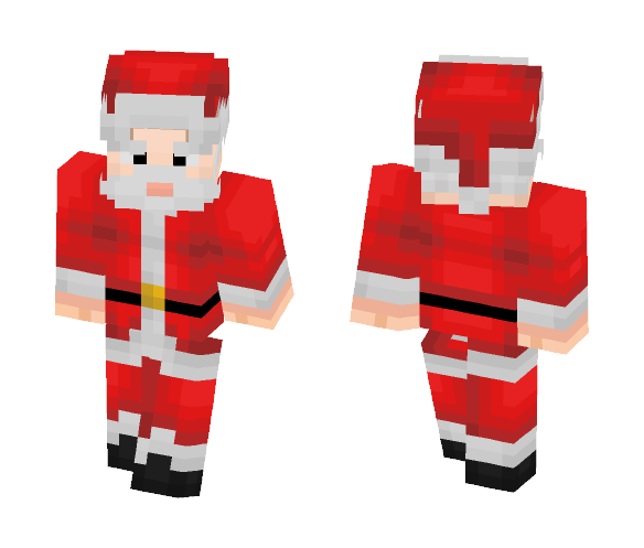 Santa Claus - Male Minecraft Skins - image 1