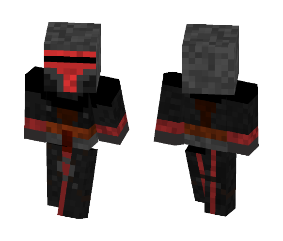 Darth Revan SWTOR style - Male Minecraft Skins - image 1