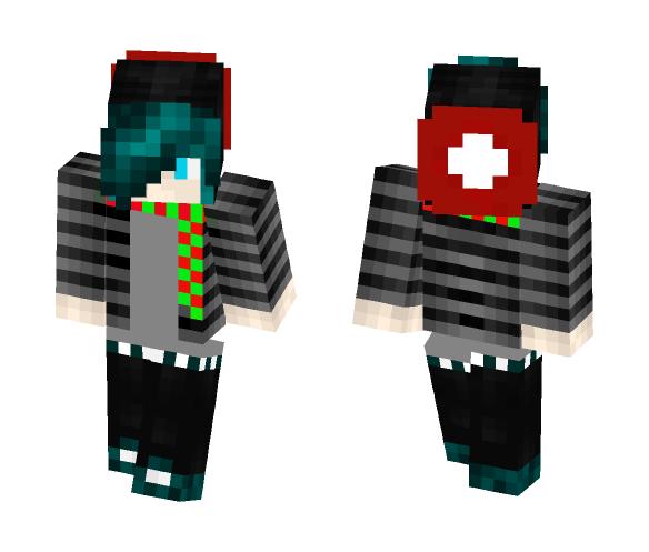 goth christmas guy christmas minecraft skins image 1 - Christmas Skins For Minecraft