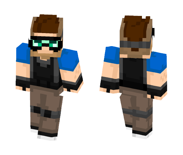 S.W.A.T. Trooper - Male Minecraft Skins - image 1