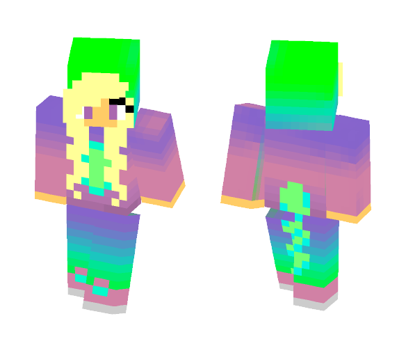 Kawaii Dino - Kawaii Minecraft Skins - image 1