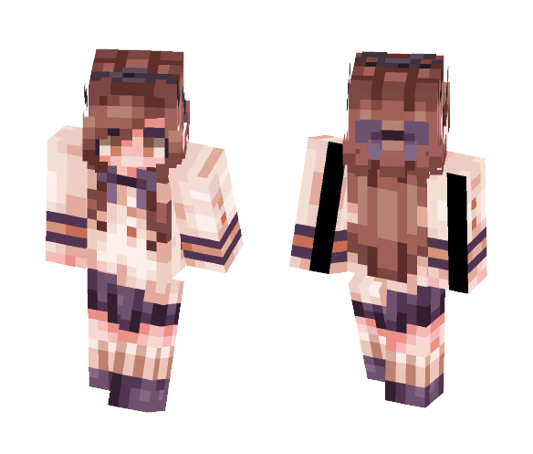 Just a Normal School Day - Female Minecraft Skins - image 1