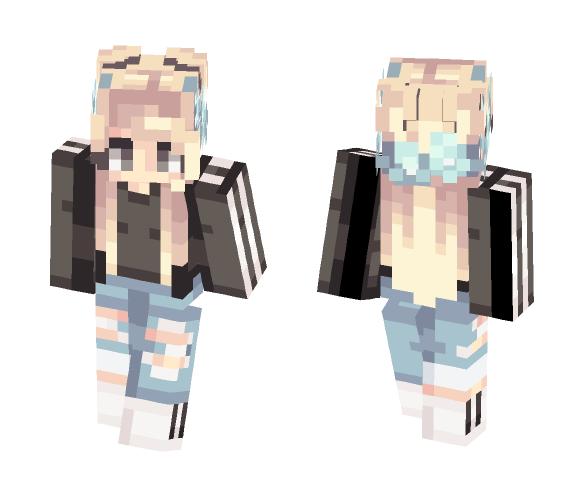 oo so trendy // tumblr - Female Minecraft Skins - image 1