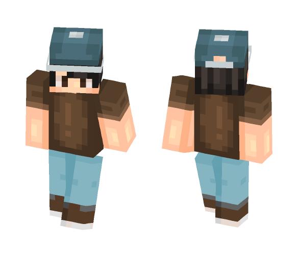 minecraft skin hat