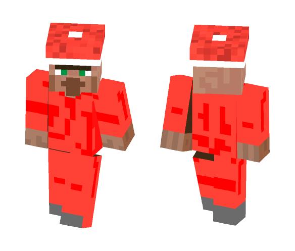 Christmas Minecraft Santa.Download Christmas Skin Santa Villager Minecraft Skin For