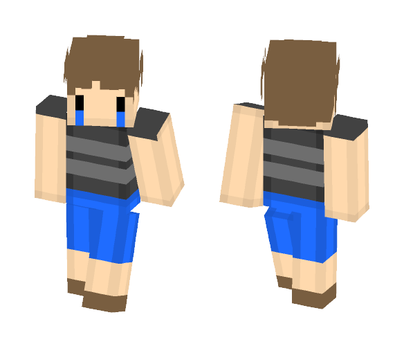 Download The Crying Child Fnaf4 Minecraft Skin For Free