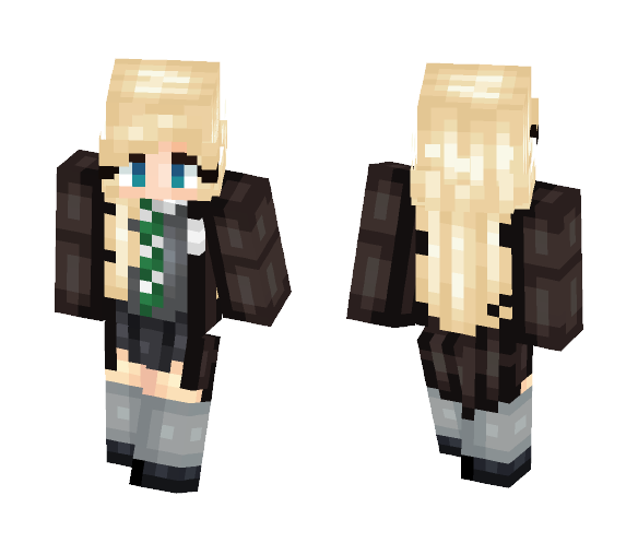 Draco Malfoy Female - Female Minecraft Skins - image 1