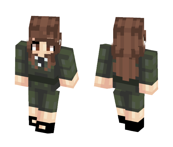 Agent Peggy Carter (Requested) - Female Minecraft Skins - image 1