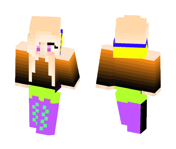 Witch in Her Halloween Outfit - Halloween Minecraft Skins - image 1