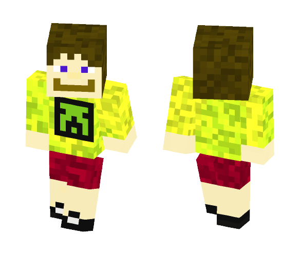 Dave the creeper guy - Male Minecraft Skins - image 1