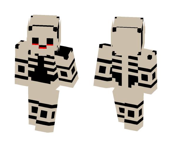 Download SKELETON (Download in description) Minecraft Skin ...  Minecraft Cute Skeleton