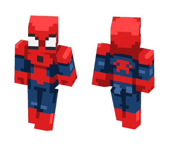 Spider man ( Nao foi eu que fiz ) - Male Minecraft Skins - image 1