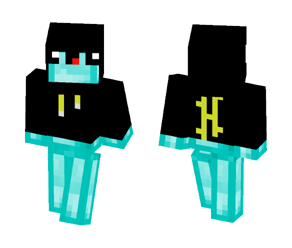 Download Hypixel Derpy Diamond Minecraft Skin for Free