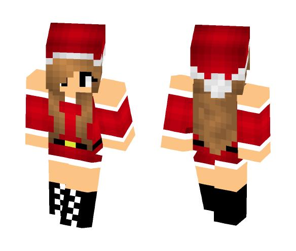 Christmas Minecraft Santa.Download Christmas Santa Girl Minecraft Skin For Free