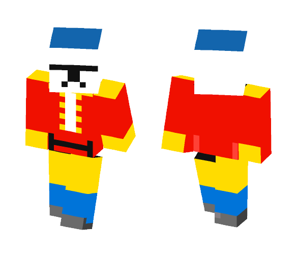 NutCracker CloneTrooper - Male Minecraft Skins - image 1
