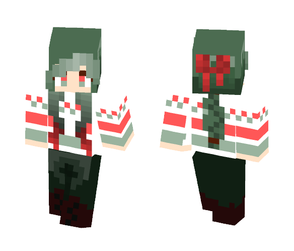 Christmas Minecraft Skins.Download Merry Christmas Girl Xeraly Minecraft Skin