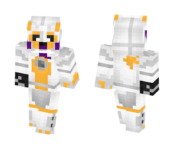 Download Lol-Bit (FNaF SL:custom Night) Minecraft Skin For