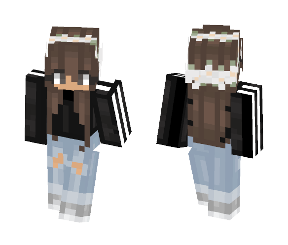 ~★Adidas is edgy but here★~ - Female Minecraft Skins - image 1