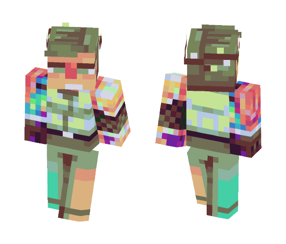 Download coolest chatmod frankenskin Minecraft Skin for Free