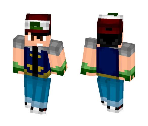 Ash Ketchum! - Male Minecraft Skins - image 1