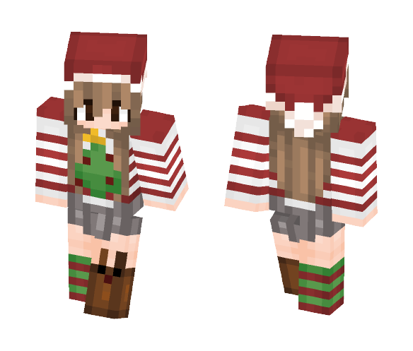 Minecraft Christmas Skins.Download Christmas Girl Skin Minecraft Skin For Free