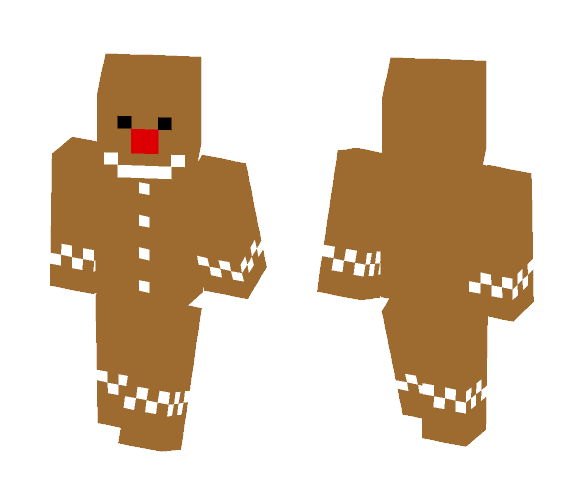 Ginger Bread Man! - Male Minecraft Skins - image 1