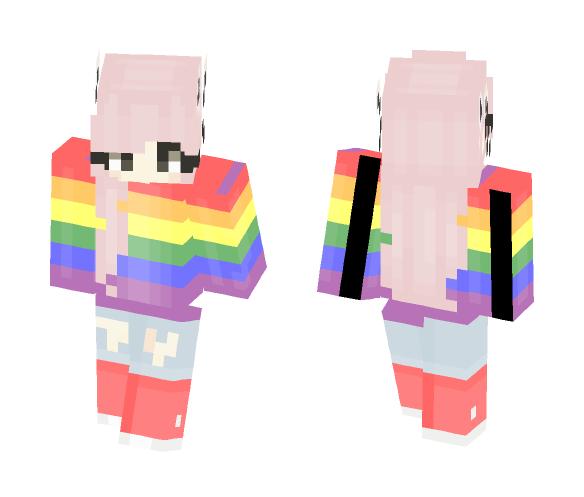 LGBT Pride! ♡ (Female Version) - Female Minecraft Skins - image 1