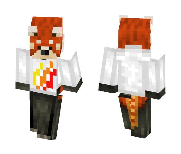 Download Red Panda W Prestonplayz Hoodie Minecraft Skin For Free