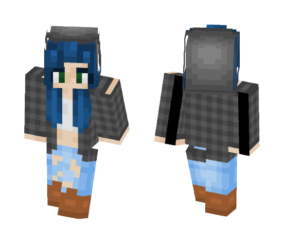 The First (Decent) Skin I Made! - Female Minecraft Skins - image 1