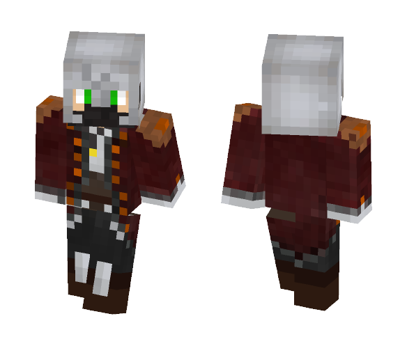 Conf - Armored - Male Minecraft Skins - image 1