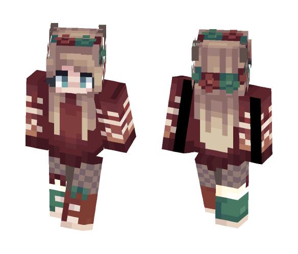 Christmas Vibes - Christmas Minecraft Skins - image 1