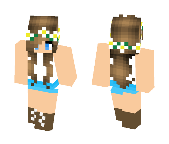 cute country girl - Cute Girls Minecraft Skins - image 1