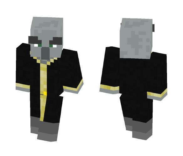 Illager Evoker (Steve Template) - Other Minecraft Skins - image 1