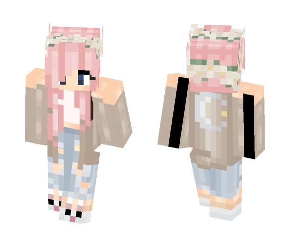 Kawaii Teen - Kawaii Minecraft Skins - image 1