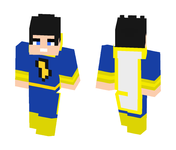 Download Captain Marvel Jr Freddy Dc Minecraft Skin For Free