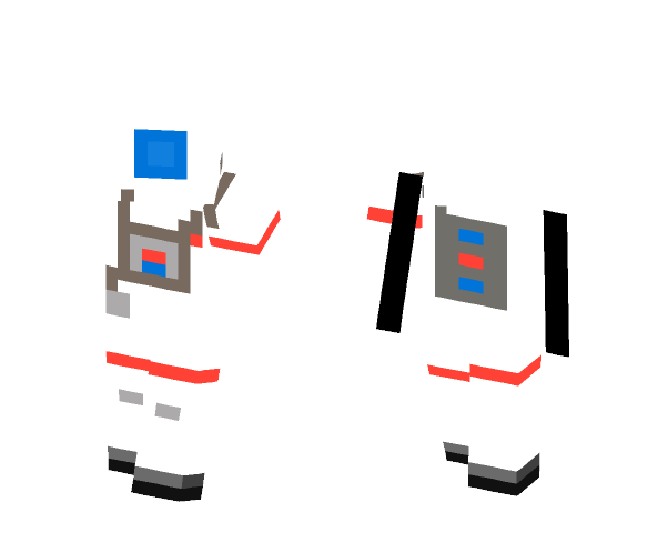 NASA Asteronot for girl - Girl Minecraft Skins - image 1