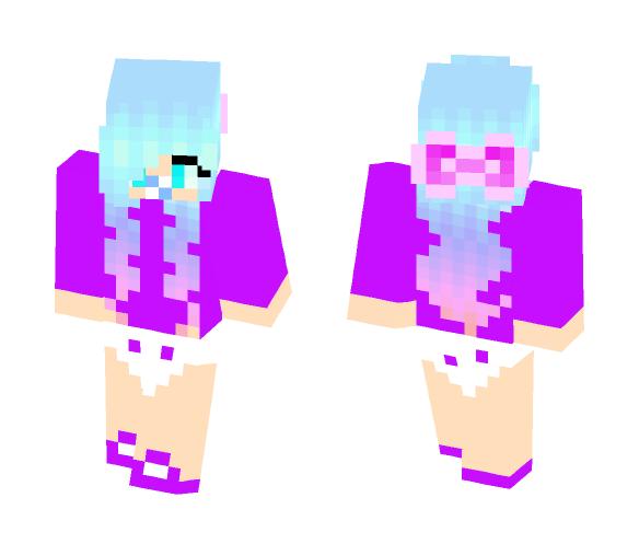 minecraft skins girl unicorn the emoji