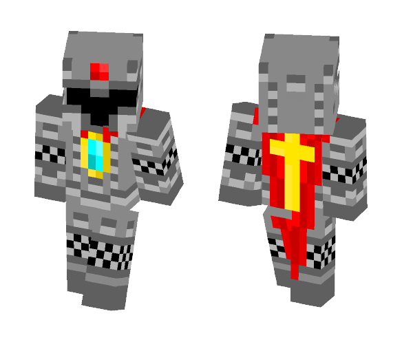 Download Knight Armor Template Minecraft Skin For Free