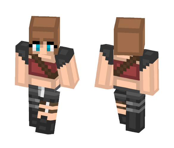 Download Alice Resident Evil 2 Minecraft Skin for Free