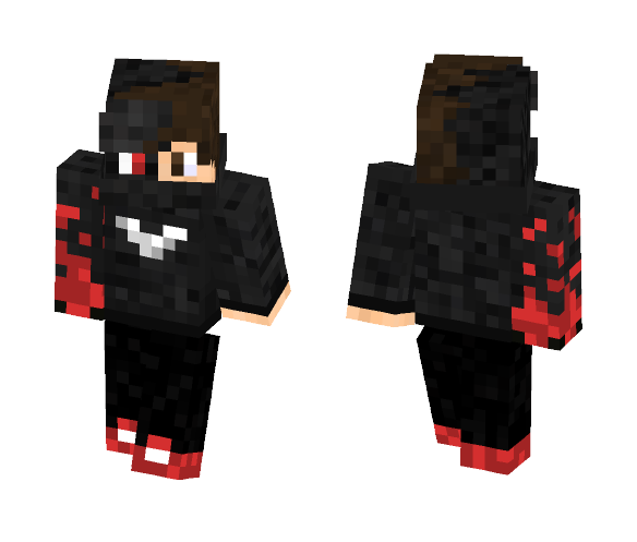 Infected PvP Guy - Male Minecraft Skins - image 1