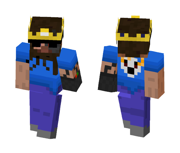 YO! Made up skin i made up XD - Male Minecraft Skins - image 1