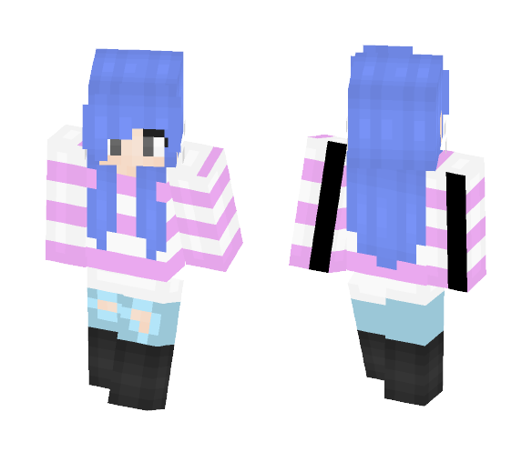 Cool Colors - Female Minecraft Skins - image 1